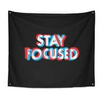 Stay Focused - indoor-wall-tapestry - small view