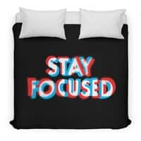 Stay Focused - duvet-cover - small view
