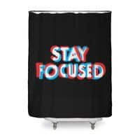 Stay Focused - shower-curtain - small view