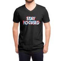 Stay Focused - vneck - small view
