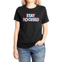 Stay Focused - womens-extra-soft-tee - small view