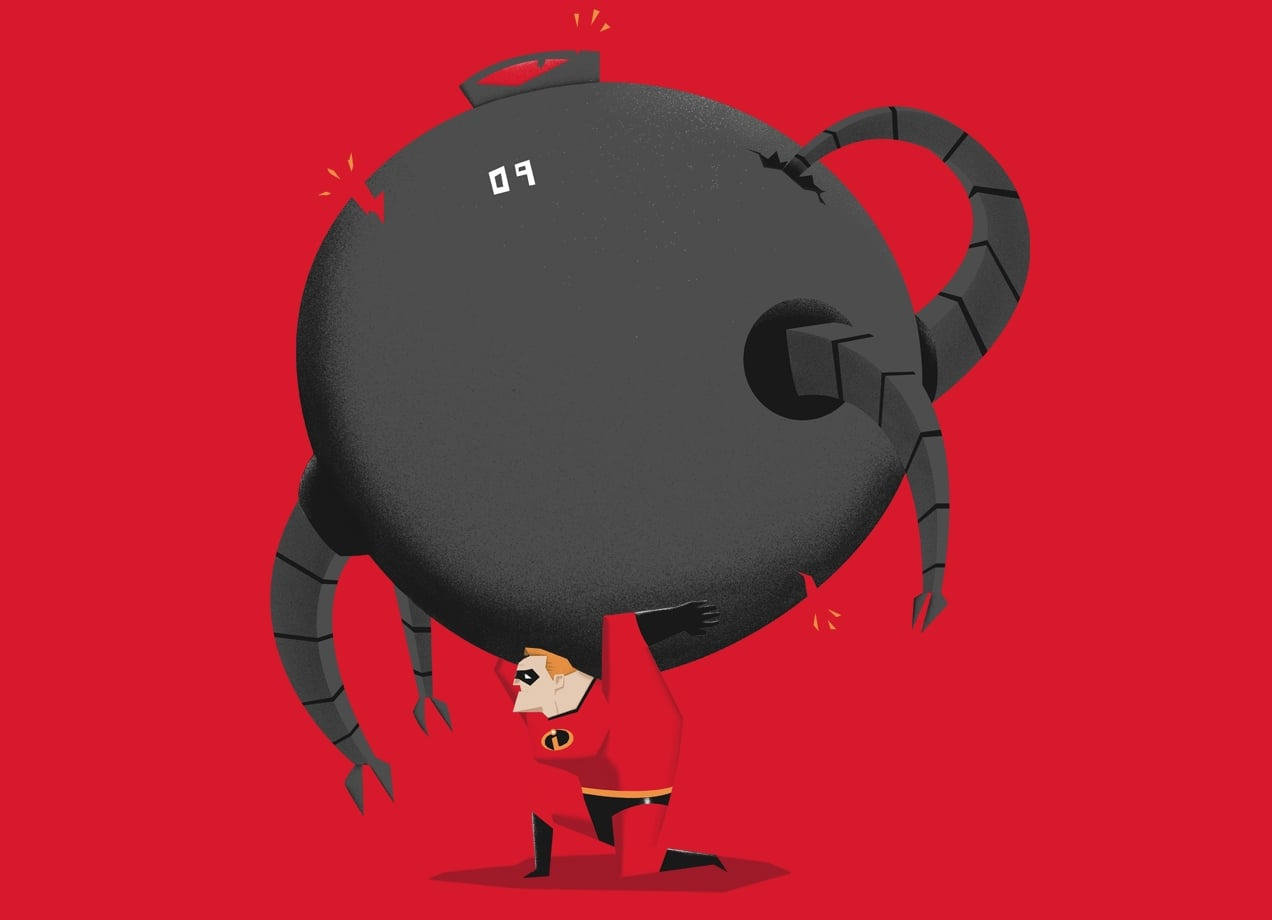 Mr Incredible By Luis Romero Threadless
