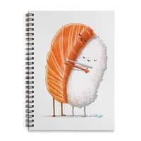 Sushi Hug - spiral-notebook - small view