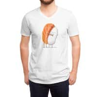 Sushi Hug - vneck - small view