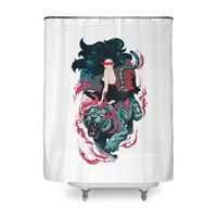Beauty and the Beast - shower-curtain - small view