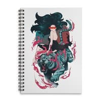 Beauty and the Beast - spiral-notebook - small view
