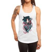 Beauty and the Beast - womens-racerback-tank - small view
