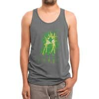 Cleaning Up Town - mens-triblend-tank - small view