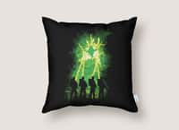 Cleaning Up Town - throw-pillow - small view
