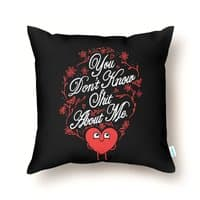 You Don't Know Me - throw-pillow - small view