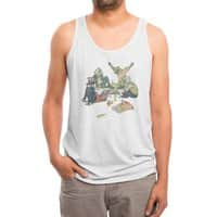 Plotting the Risky Agenda - mens-triblend-tank - small view