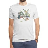 Plotting the Risky Agenda - mens-triblend-tee - small view