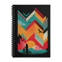 Bike Ride - spiral-notebook - small view