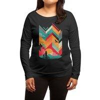 Bike Ride - womens-long-sleeve-terry-scoop - small view