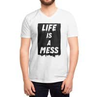 Life - vneck - small view