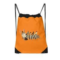 Abbey Zebra - drawstring-bag - small view