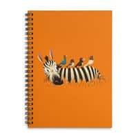 Abbey Zebra - spiral-notebook - small view