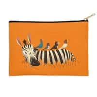 Abbey Zebra - zip-pouch - small view