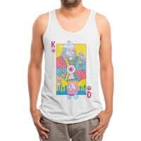 King of Nothing, Queen of Nowhere - mens-triblend-tank - small view