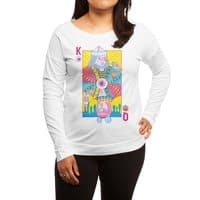 King of Nothing, Queen of Nowhere - womens-long-sleeve-terry-scoop - small view