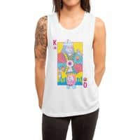 King of Nothing, Queen of Nowhere - womens-muscle-tank - small view