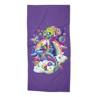 Rainbow Apocalypse - beach-towel - small view