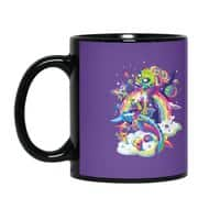 Rainbow Apocalypse - black-mug - small view