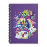 Rainbow Apocalypse - spiral-notebook - small view