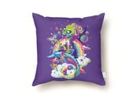 Rainbow Apocalypse - throw-pillow - small view