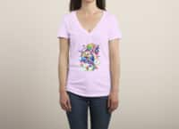 Rainbow Apocalypse - womens-deep-v-neck - small view