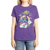 Rainbow Apocalypse - womens-extra-soft-tee - small view