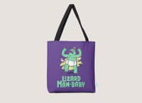 Lizard Man-Baby - tote-bag - small view
