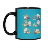 Crazy Dragon Lady - black-mug - small view