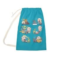 Crazy Dragon Lady - laundry-bag - small view
