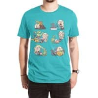 Crazy Dragon Lady - mens-extra-soft-tee - small view