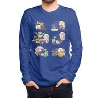Crazy Dragon Lady - mens-long-sleeve-tee - small view