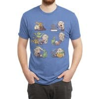 Crazy Dragon Lady - mens-triblend-tee - small view