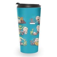 Crazy Dragon Lady - travel-mug - small view