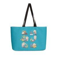 Crazy Dragon Lady - weekender-tote - small view
