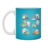 Crazy Dragon Lady - white-mug - small view