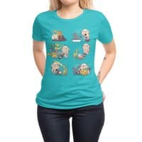 Crazy Dragon Lady - womens-regular-tee - small view