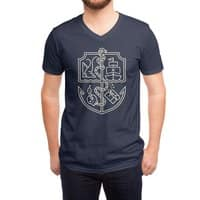 Of the Sea - vneck - small view