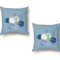 Weight Lifting Accident - throw-pillow - small view