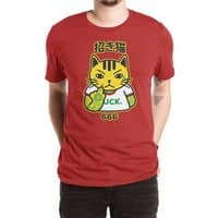 Unlucky Cat - mens-extra-soft-tee - small view