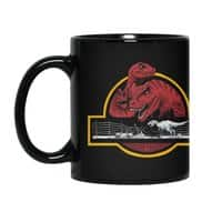PALEONTOLOGICAL ADVENTURE - black-mug - small view