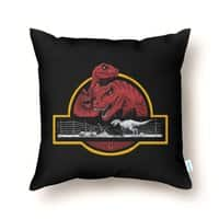 PALEONTOLOGICAL ADVENTURE - throw-pillow - small view