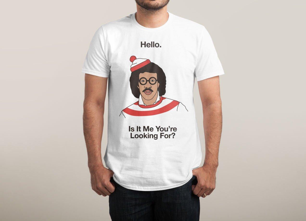 Cool White Mens T-Shirt Designs on Threadless