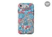 Anatomy of a Skull - double-duty-phone-case - small view