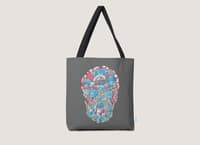 Anatomy of a Skull - tote-bag - small view