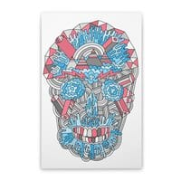 Anatomy of a Skull - vertical-stretched-canvas - small view